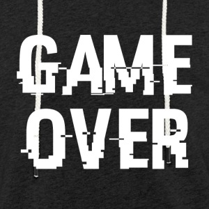 Game Over - Leichtes Kapuzensweatshirt Unisex