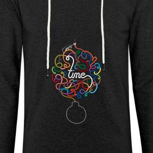 Time - Time - Lichte hoodie unisex