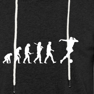Evolution Soccer! Football! Football! - Sweat-shirt à capuche léger unisexe