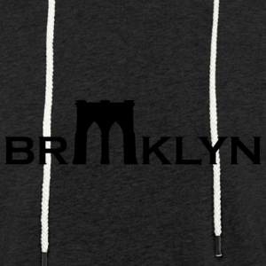 Brooklyn bridge - Lett unisex hette-sweatshirt