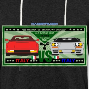 The Green Hell big match: TestarossaVSCountach - Light Unisex Sweatshirt Hoodie