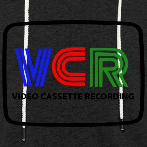VIDEO TAPE RECORDING - Light Unisex Sweatshirt Hoodie