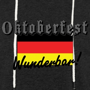 Oktoberfest Wunderbar German Flag - Light Unisex Sweatshirt Hoodie