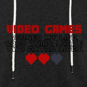 Video Games - Two Extralives - Light Unisex Sweatshirt Hoodie