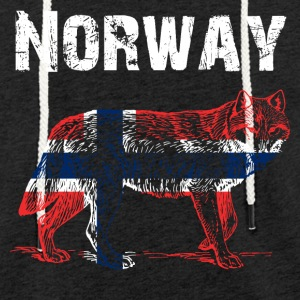 Nation-Design Norway Wolf - Light Unisex Sweatshirt Hoodie