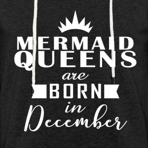 Mermaid Décembre Queens - Sweat-shirt à capuche léger unisexe