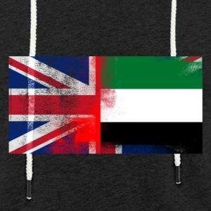 British Emirati Half United Arab Emirates Half UK - Lätt luvtröja unisex