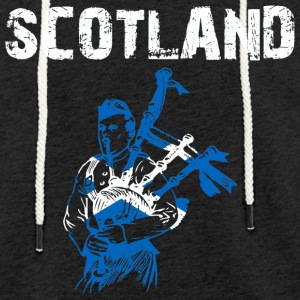 Nation-Design Scotland - Leichtes Kapuzensweatshirt Unisex
