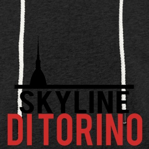 Skyline of Turin - Light Unisex Sweatshirt Hoodie