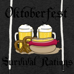 Oktoberfest Survival Rations - Light Unisex Sweatshirt Hoodie