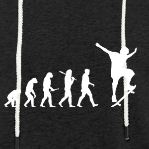 Evolution skateboard! Skate! - Let sweatshirt med hætte, unisex