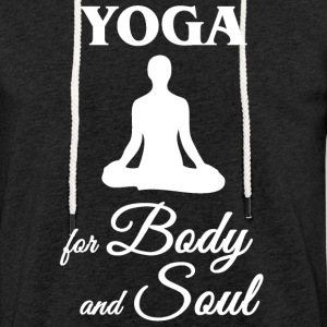 Yoga for Body and Soul - Light Unisex Sweatshirt Hoodie