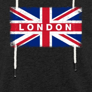 London Shirt Vintage United Kingdom Flag T-Shirt - Light Unisex Sweatshirt Hoodie