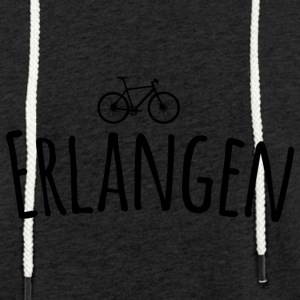 Bicycle Erlangen - Light Unisex Sweatshirt Hoodie
