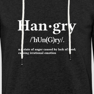 Hangry - Lichte hoodie unisex