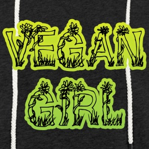 Vegan Girl - Sweat-shirt à capuche léger unisexe