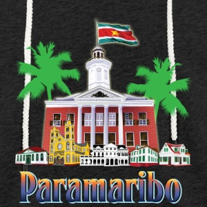 buildings Paramaribo - Light Unisex Sweatshirt Hoodie