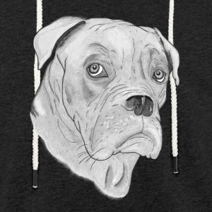 Chien Dogue de Bordeaux - Sweat-shirt à capuche léger unisexe