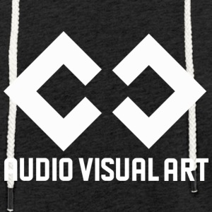 T-SHIRT AUDIO VISUAL ART - Felpa con cappuccio leggera unisex