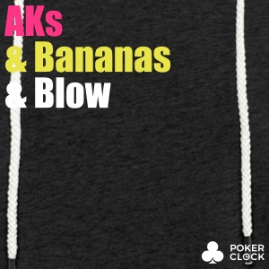 AKs & Bananas & Blow - Light Unisex Sweatshirt Hoodie