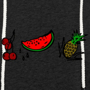 FRUITS - Sweat-shirt à capuche léger unisexe