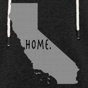 Calif Home. - Let sweatshirt med hætte, unisex