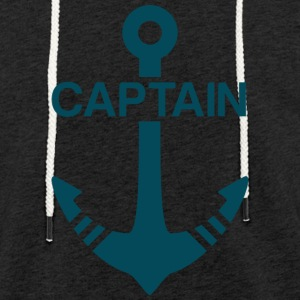 Captain - Light Unisex Sweatshirt Hoodie