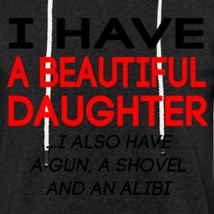 beautiful_daughter - Lett unisex hette-sweatshirt