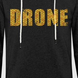 Drone in design / gift. Order here. - Light Unisex Sweatshirt Hoodie