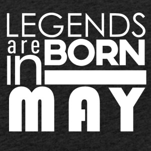 Legends are born in May - Light Unisex Sweatshirt Hoodie