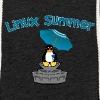linux summer - Felpa con cappuccio leggera unisex
