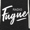 Radio Fugue Blanc - Sweat-shirt à capuche léger unisexe