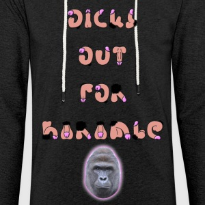 Dicks Out For Harambe - Light Unisex Sweatshirt Hoodie