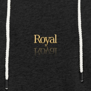 royal - Sweat-shirt à capuche léger unisexe
