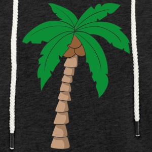 Palm tree - Light Unisex Sweatshirt Hoodie