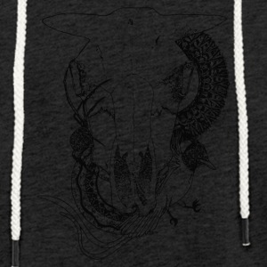 Animal-Skull - Light Unisex Sweatshirt Hoodie