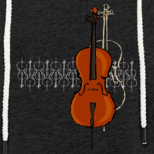 Cello Design 2 bright - Light Unisex Sweatshirt Hoodie