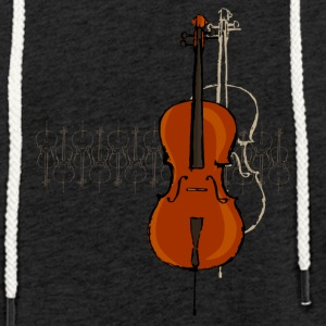 Cello Design 2 dark - Light Unisex Sweatshirt Hoodie