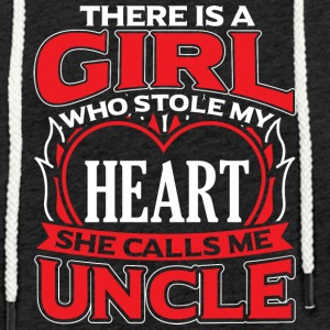 UNCLE - THERE IS A GIRL WHO STOLE MY HEART - Light Unisex Sweatshirt Hoodie