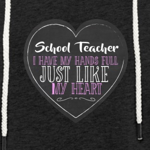 Schoolteacher, school, love, school - Light Unisex Sweatshirt Hoodie