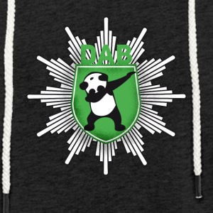 Dab coat of arms panda dabbing touchdown swag festival - Light Unisex Sweatshirt Hoodie