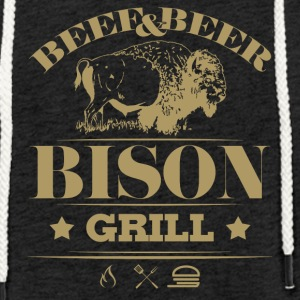 Grill Barbecue Bison 5g - Light Unisex Sweatshirt Hoodie