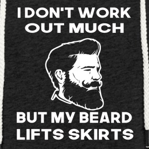 i dont work out much but my beard lifts skirts - Light Unisex Sweatshirt Hoodie