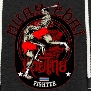 Muay Thai Fighter - Sweat-shirt à capuche léger unisexe