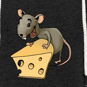 Fiese mouse rodent mouse vermin rodent cheese - Light Unisex Sweatshirt Hoodie