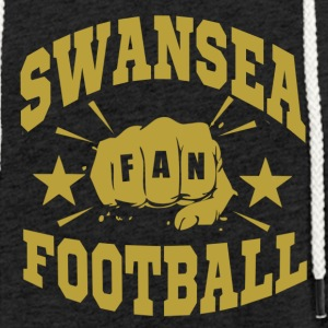 Swansea Football Fan - Lätt luvtröja unisex