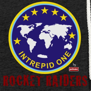 patame Intrepid One Logo mit Rocket Raiders - Leichtes Kapuzensweatshirt Unisex