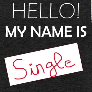 My Name is Single - Sudadera ligera unisex con capucha