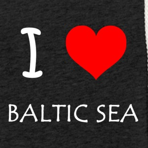 I Love Baltic Sea - Light Unisex Sweatshirt Hoodie