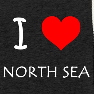 I Love North Sea - Light Unisex Sweatshirt Hoodie